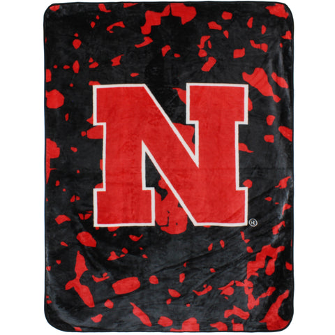 Nebraska Huskers Throw Blanket / Bedspread