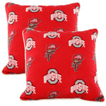 Ohio State Buckeyes Outdoor Decorative Pillow 16x16