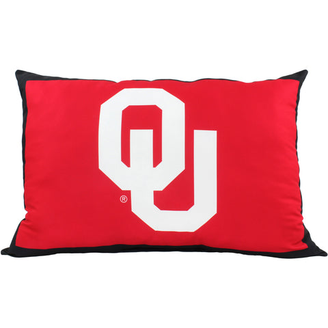 "Oklahoma Sooners Fully Stuffed 28"" Big Logo Pillow"