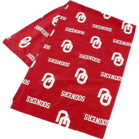 Oklahoma Sooners Body Pillow Pillowcase