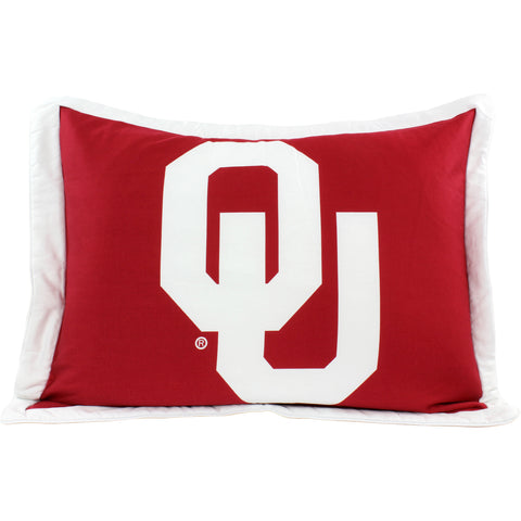 Oklahoma Sooners Pillow Sham