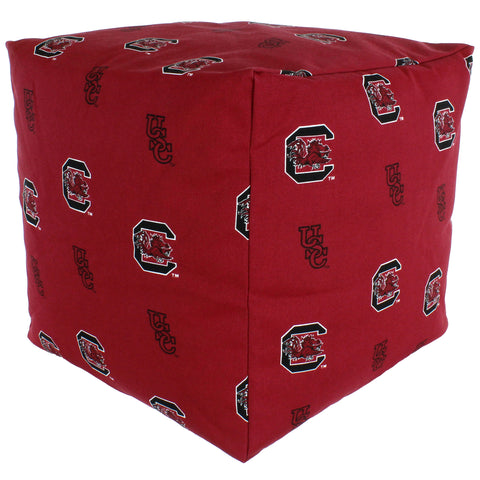 South Carolina Gamecocks Cube Cushion