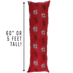 South Carolina Gamecocks Body Pillow