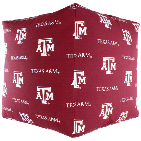Texas A&M Aggies Cube Cushion