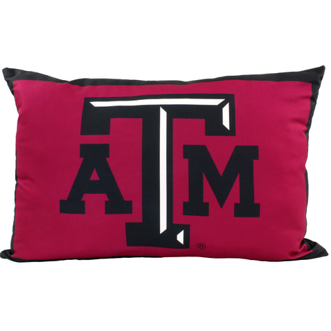 "Texas A&M Aggies Fully Stuffed 28"" Big Logo Pillow"