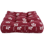 "Texas A&M Aggies Floor Pillow or Pet Bed, 24"" x 24"" Square"