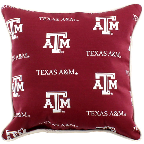 "Texas A&M Aggies 16"" Outdoor Decorative Pillow"