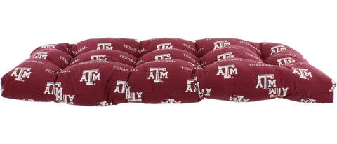 Texas A&M Aggies Settee Cushion