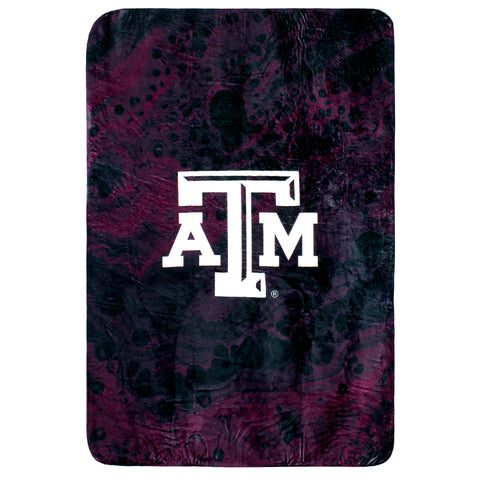 Texas A&M Aggies Sublimated Soft Throw Blanket