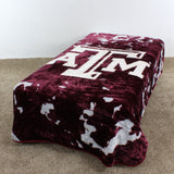 Texas A&M Aggies Throw Blanket / Bedspread