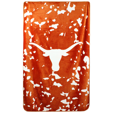 "Texas Longhorns Throw Blanket, 54"" x 84"""
