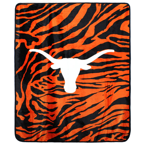 "Texas Longhorns Throw Blanket, 50"" x 60"""