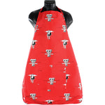 "Texas Tech Red Raiders Grilling Tailgating Apron with 9"" Pocket, Adjustable"