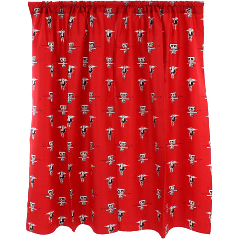 Texas Tech Red Raiders Curtain Panels