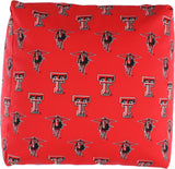 Texas Tech Red Raiders Cube Cushion