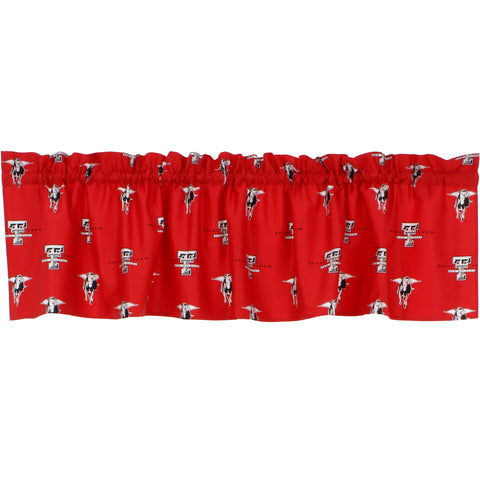 Texas Tech Red Raiders Curtain Valance