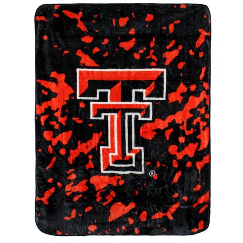 Texas Tech Red Raiders Throw Blanket / Bedspread