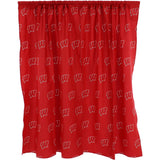 Wisconsin Badgers Curtain Panels