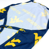 "West Virginia Mountaineers Grilling Tailgating Apron with 9"" Pocket, Adjustable"