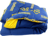 West Virginia Mountaineers Reversible Cotton Comforter Set
