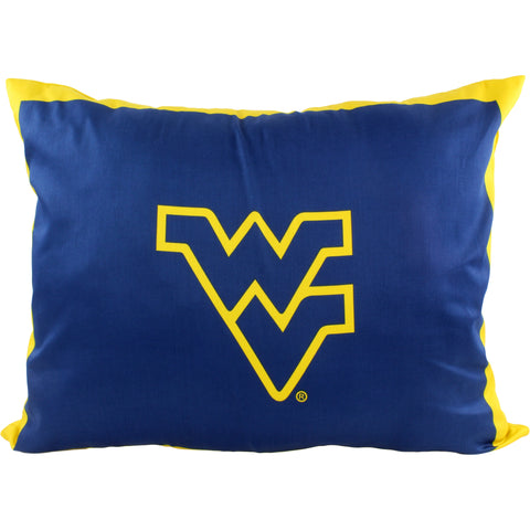 West Virginia Mountaineers Fully Stuffed Big Logo Pillow