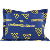 West Virginia Mountaineers Pillow Sham