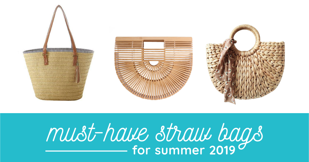 6 Must-Have Straw Bags for Summer 2019