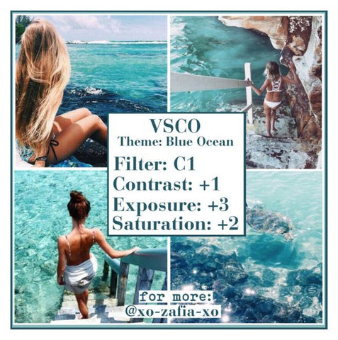 The 5 Best VSCO Filters for that Summer Vibes Look – Chasing