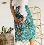 Florianopolis - Midi Skirt with Front Slit