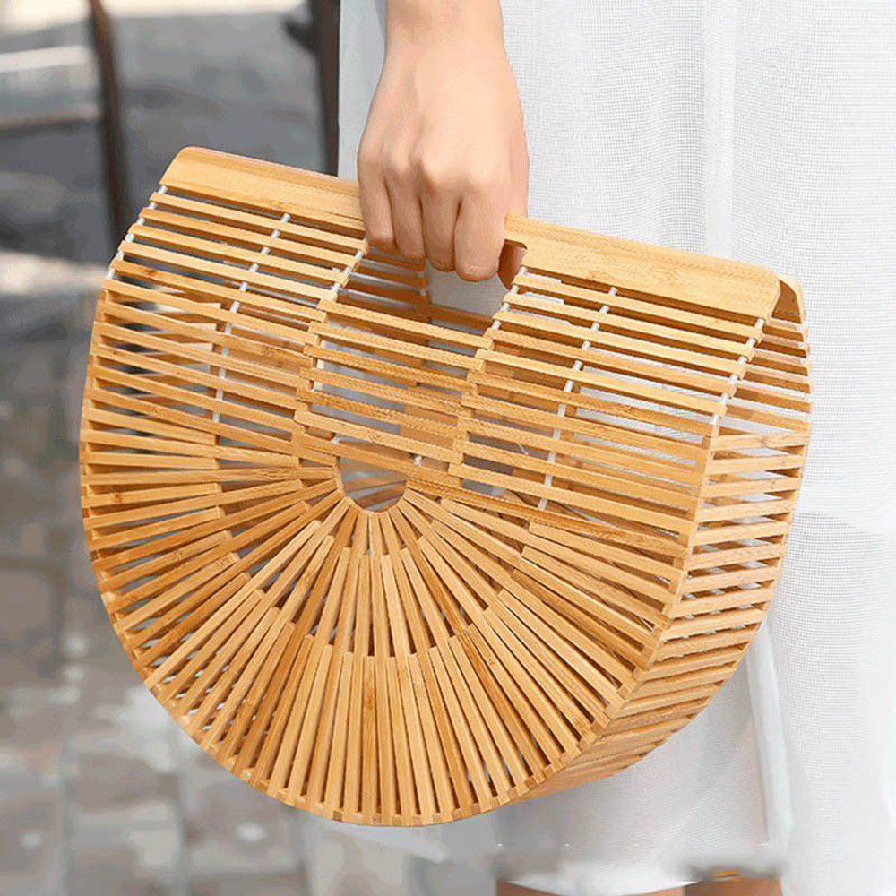 Okinawa - Bamboo Beach Hand Bag