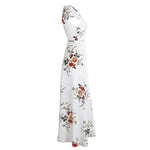 Maine - White High Waist Maxi Dress