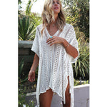 Liku - Crochet Swimsuit Cover-up Tunic