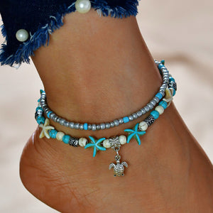 Quirimbas - Vintage Bead Anklets