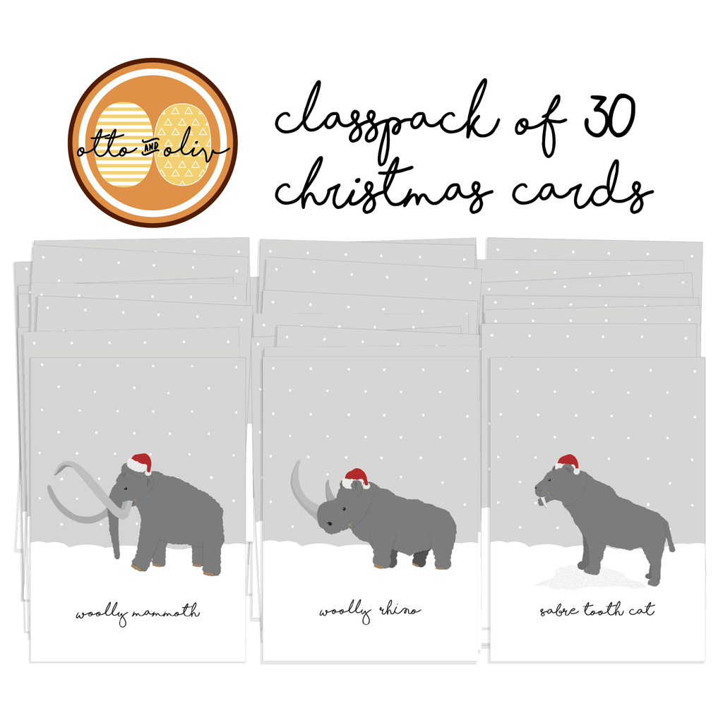 Ice Age Christmas Cards (30) – Otto and Oliv
