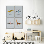 Land and Sky - collection of 3 or 4 prints - Otto and Oliv