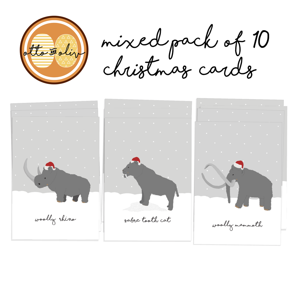 Ice Age Christmas Cards (10) – Otto and Oliv