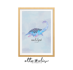 Pernille Plesiosaur - octopus print - Otto and Oliv