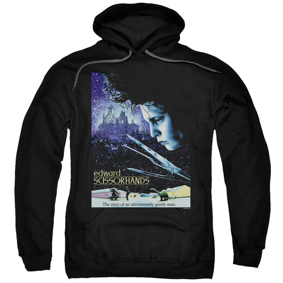 Edward Scissorhands - Poster Adult Pull Over Hoodie