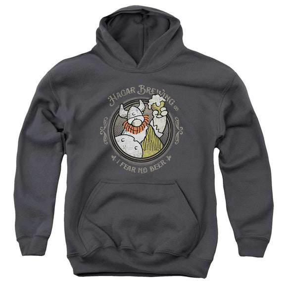 Hagar The Horrible - Hagar Brewing Youth Pull Over Hoodie