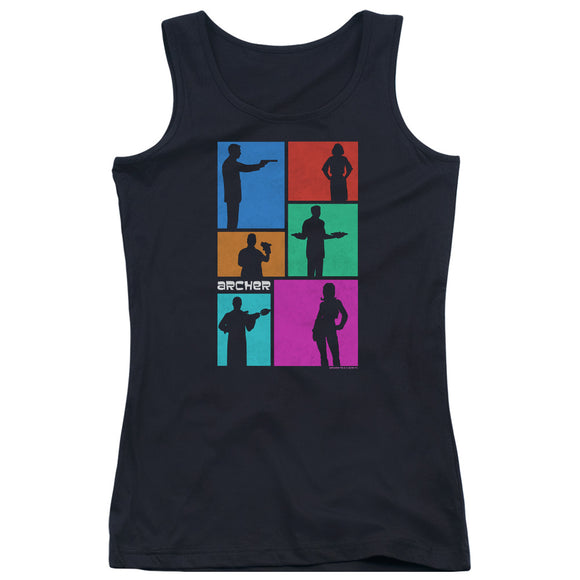 Archer - Silhouettes Juniors Tank Top
