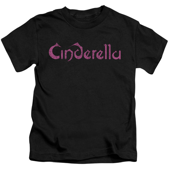 Cinderella - Logo Rough Short Sleeve Juvenile