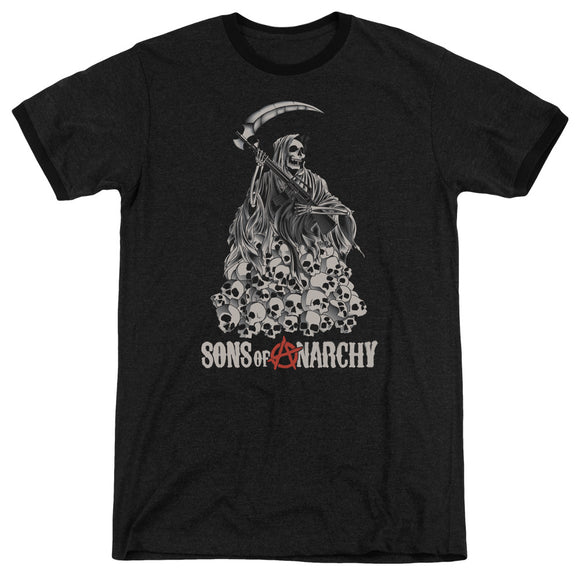 Sons Of Anarchy - Pile Of Skulls Adult Heather