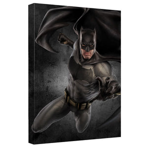 Batman V Superman - Batman Canvas Wall Art With Back Board
