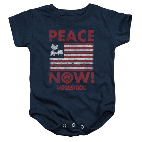 Woodstock - Peace Now Infant Snapsuit