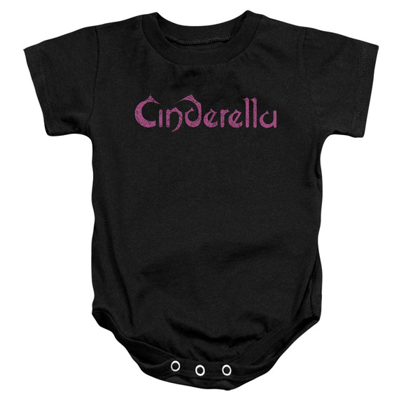 Cinderella - Logo Rough Infant Snapsuit