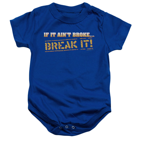 Break It Infant Snapsuit
