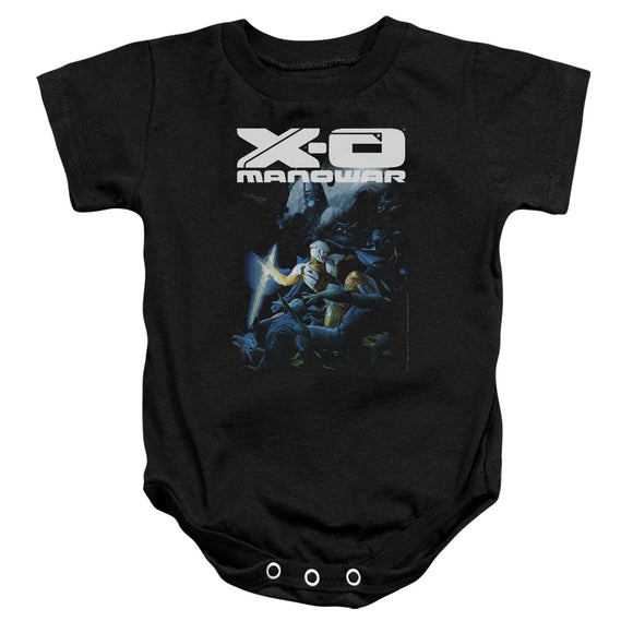 Xo Manowar - By The Sword Infant Snapsuit