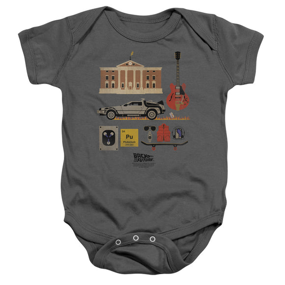 Back To The Future - Items Infant Snapsuit
