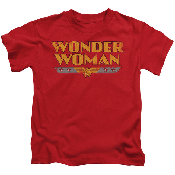 Wonder Woman Logo Short Sleeve Juvenile