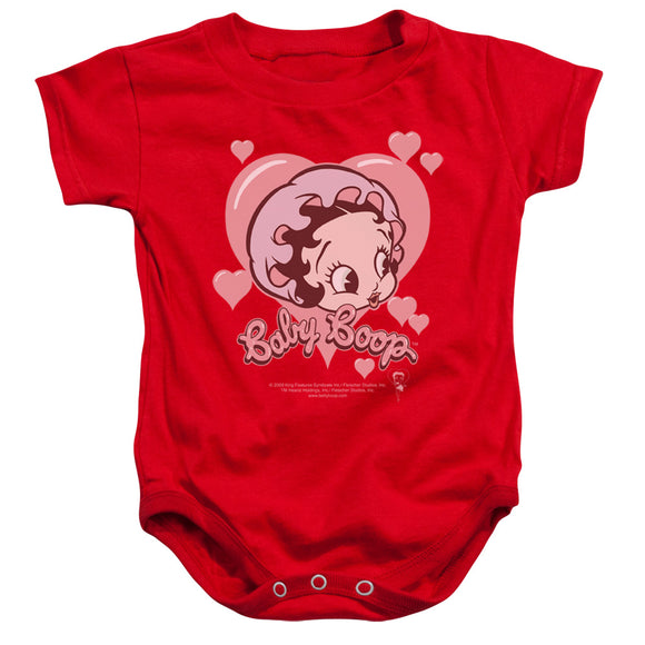 Betty Boop - Baby Heart Infant Snapsuit